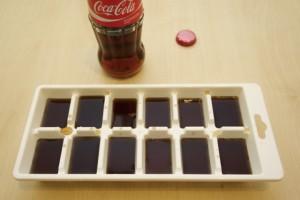 Napraviti kockice leda od Coca-Cole
