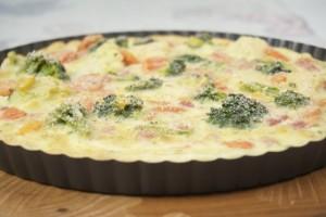 Pečena ljetna pita s povrćem