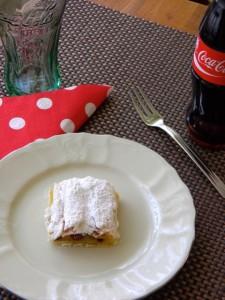 Slatka savijača od vrhnja i starog kruha