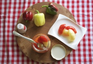 Kisela paprika na stolu uz ručak!