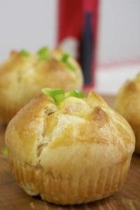 Raspuknuti slani muffini