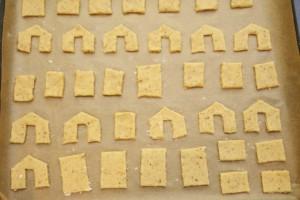 Položiti sve dijelove na lim za pečenje i ispeći.