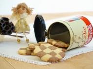 Crno-bijeli šah keksi