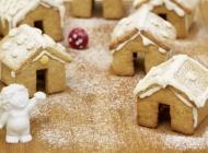 Kućice od medenjaka – medeni ukras Božića