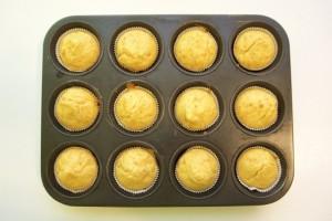 Ispeći muffine i poslužiti