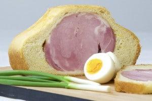 Šunka u kruhu - dobar tek i sretan Uskrs svima! :)