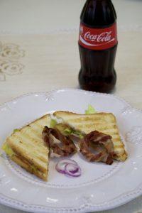 Gril sendviči sa slaninom