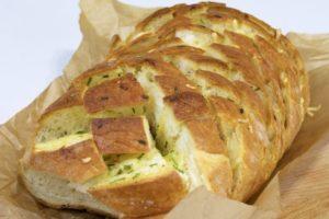 Kruh je spreman za trganje na komadiće! Dobar tek :)