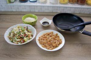 Pripremiti i sve ostale sastojke za kuhanje...