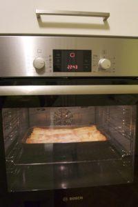 Peći u pećnici na 180 stupnjeva