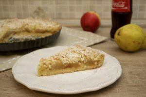 Pita od jabuka i krušaka s mrvicama