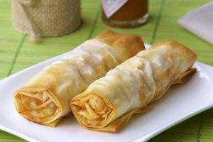 Chimichanga spring rolls