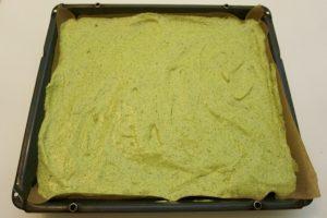 Priprema zelenog biskvita za roladu