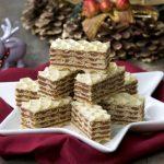 Starinske čokoladne oblatne sa dulce de leche kremom