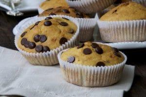 Muffini sa bananama i čokoladom