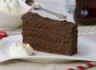 Crna torta kao čokoladni kolač bez brašna
