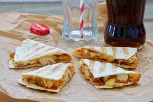 Quesadilla s piletinom na KCF način