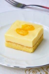 Kremasti kolač s mandarinama