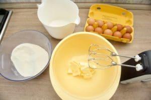 Pripremiti sve sastojke za biskvit