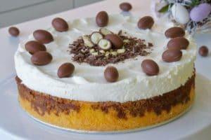 Uskrsna mramorna torta