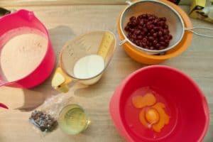 Pripremiti sve sastojke za muffine
