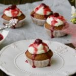 Schwarzwald muffini – cupcake s višnjama