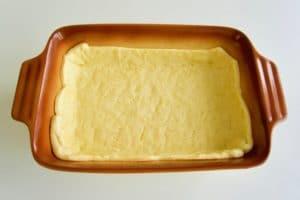 Ovako izgleda prhko tijesto nakon kratkog pečenja ispod graha