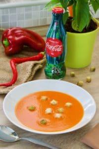 Krem juha od crvene paprike