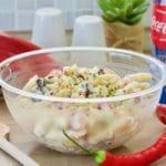 Meksička salata sa tjesteninom, grahom i kukuruzom