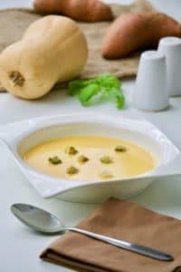 Krem juha od batata i tikve