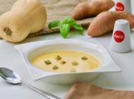 Krem juha od batata i tikve sa kurkumom