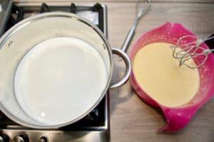 Pripremiti sve za kuhanje kreme