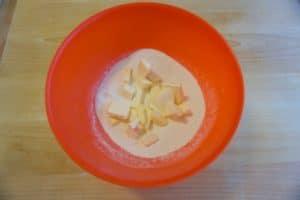 Pripremiti sve sastojke za prhko tijesto