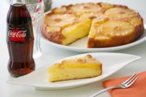 Preokrenuti kolač od ananasa sa sirom