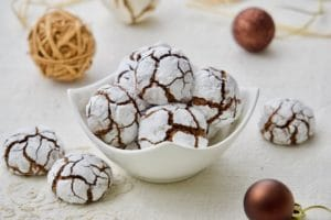 Raspucanci - čokoladni raspuknuti keksići