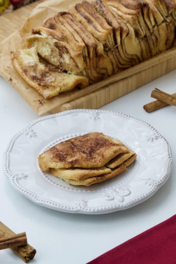 Slatki kruh sa cimetom/Cinnamon Sugar Pull-apart bread