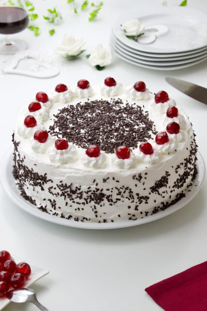 Schwarzwald torta - Švarcvald torta